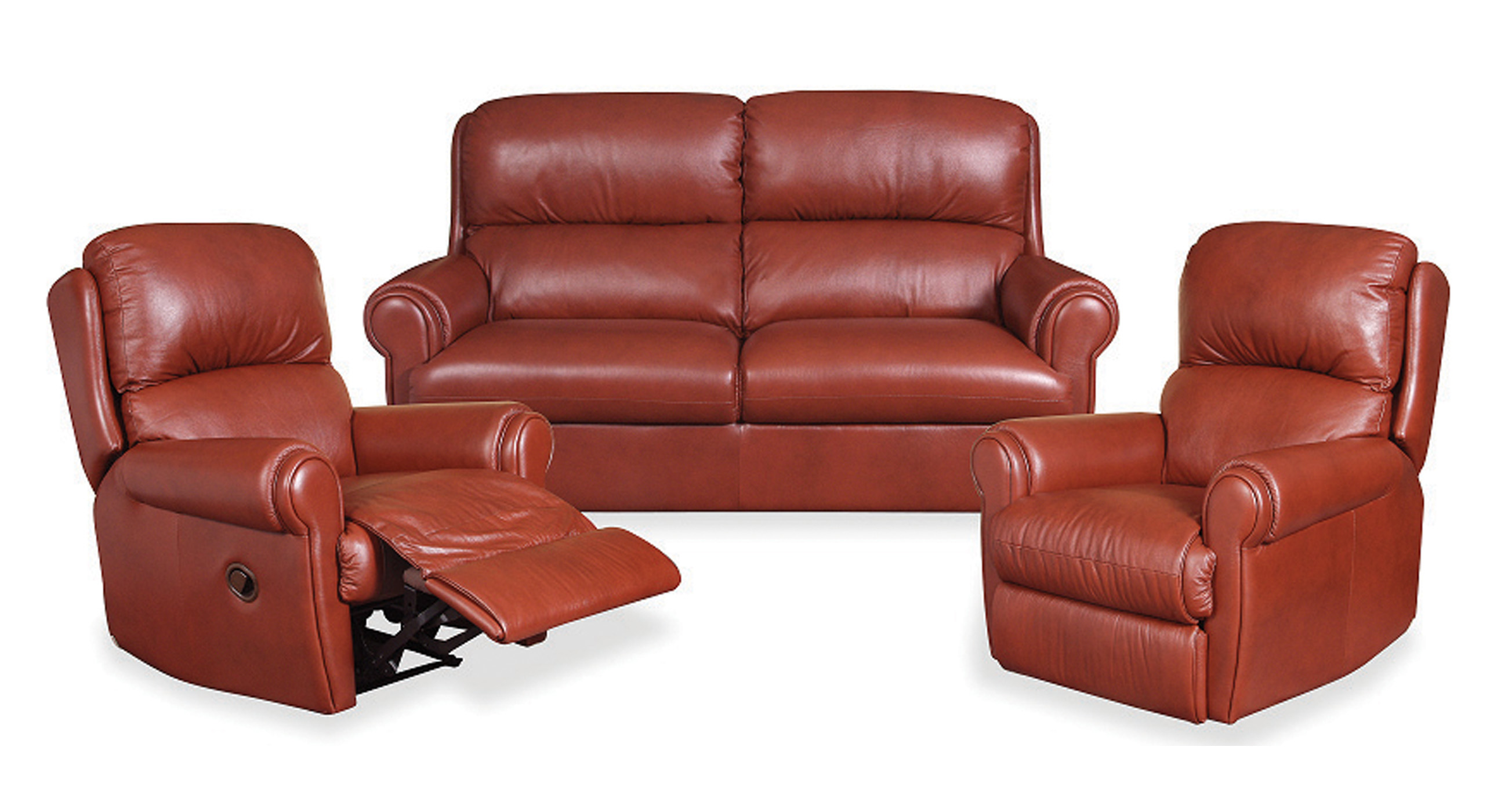 Phillip Reclining Sofa and Chairs